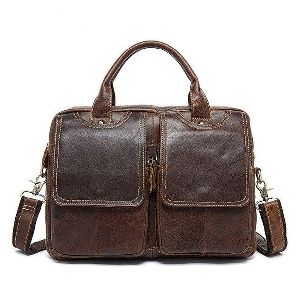Briefcases men messenger leather laptop document office totes lawyer