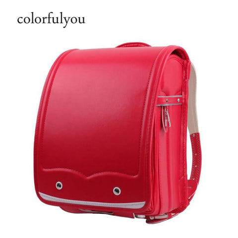 Backpacks children orthopedic school bags waterproof pu