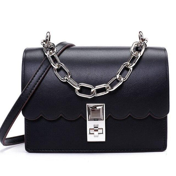 Bag women fashion luxury brand genuine leather bag mini handbag chain tote party purse crossbody