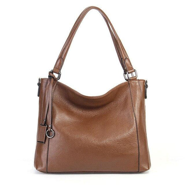 Handbags women luxury bags soft skin 100% real cow leather shoulder large capacity messenger crossbody purse