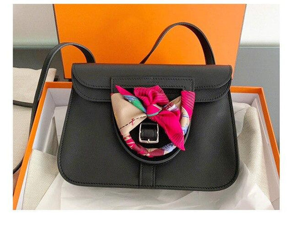 Briefcase spring and summer first layer leather lychee shoulder slung handbags tote mobile phone purse