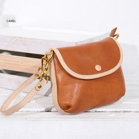 Bag women's genuine leather fashion cowhide small crossbody clutch