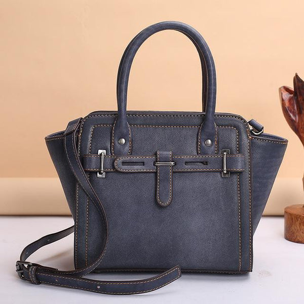Handbag ladies designer's top leather retro fashion shoulder tote bag luxury
