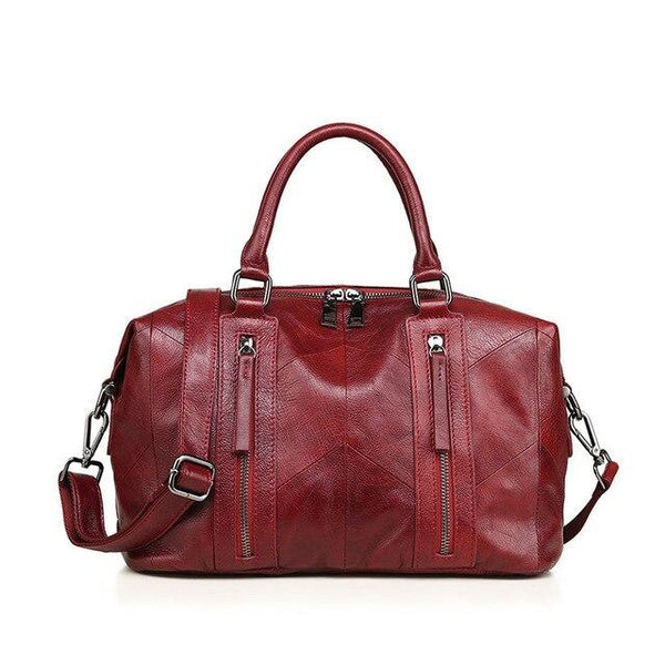 Handbag women's genuine leather totes shoulder messenger bags