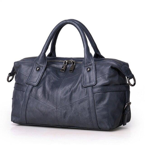 Handbag women genuine leather shoulder messenger tote