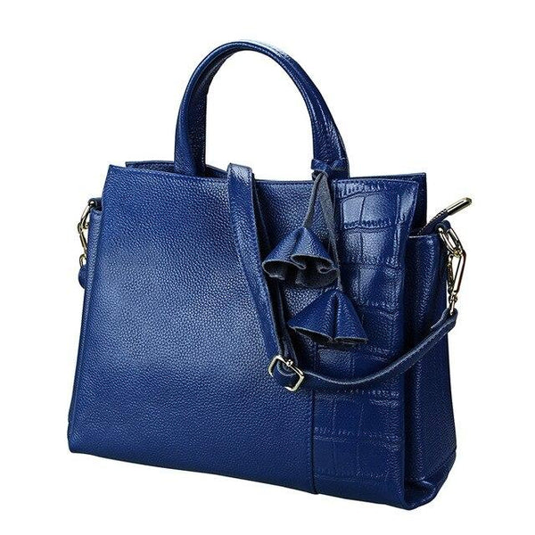 Handbags women genuine leather shoulder crossbody bags for tassel