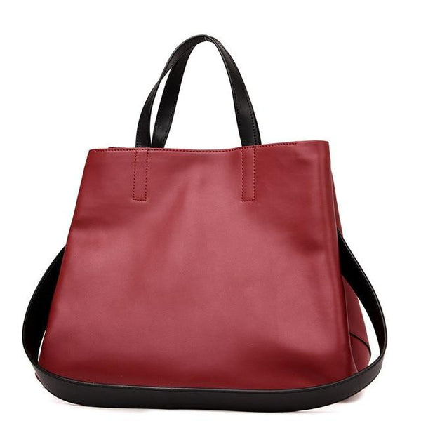 Bag women 100% genuine leather luxury tote famous brand garden party handbag casual cowhide big shoulder top handle