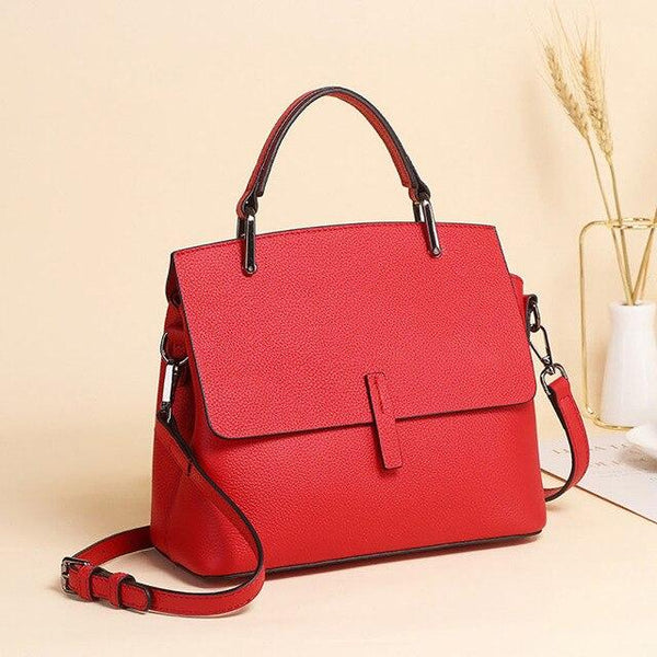 Handbag women's luxury 100% real cow leather shoulder genuine messenger