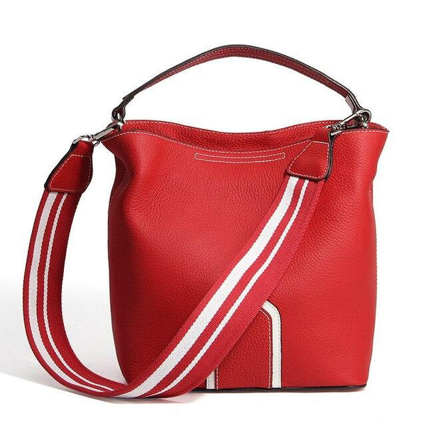 Handbags ladies genuine leather small real skin shoulder bags messenger totes