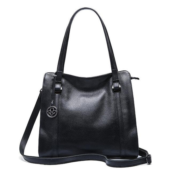 Handbag ladies famous brand shoulder bags genuine leather designer tote soft crossbody