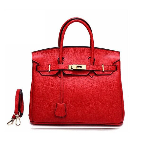 Bags women famous brands messenger luxury big for shoulder genuine leather designer lock crossbody handbags