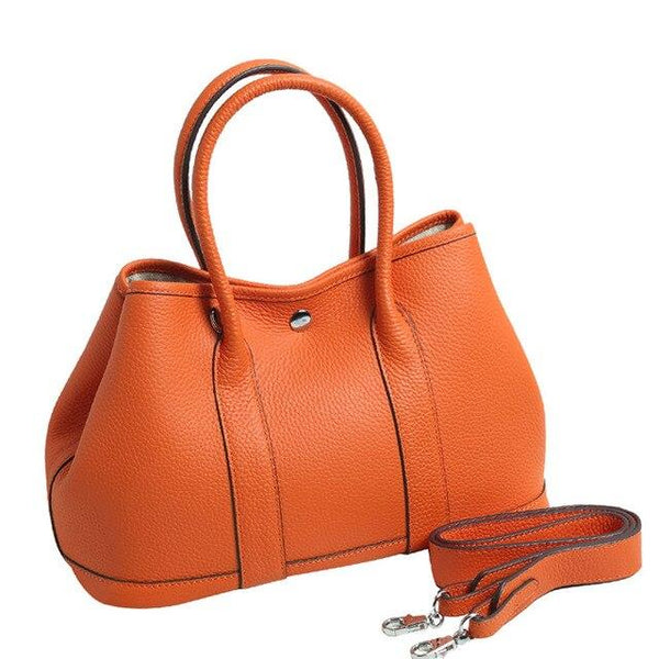 Bag women luxury design top layer cowhide genuine leather large capacity handbag fashion shoulder messenger