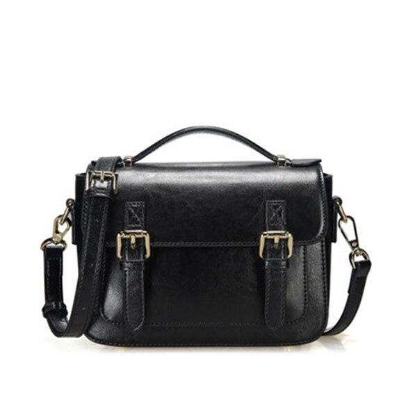 Handbag women tote genuine leather shoulder small flap crossbody messenger