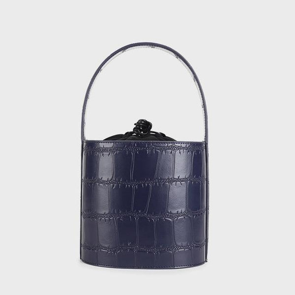 Handbags women leather fashion brand design striped messenger tote