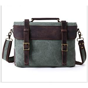 Handbag men's messenger canvas shoulder postman casual crossbody
