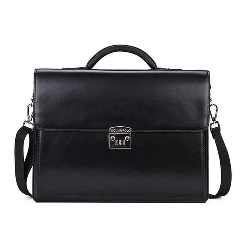 Briefcase men luxury business with code-lock brand