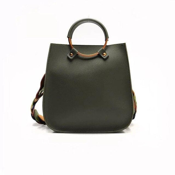 Bag women vintage casual leather handbags purses clutch messenger shoulder crossbody