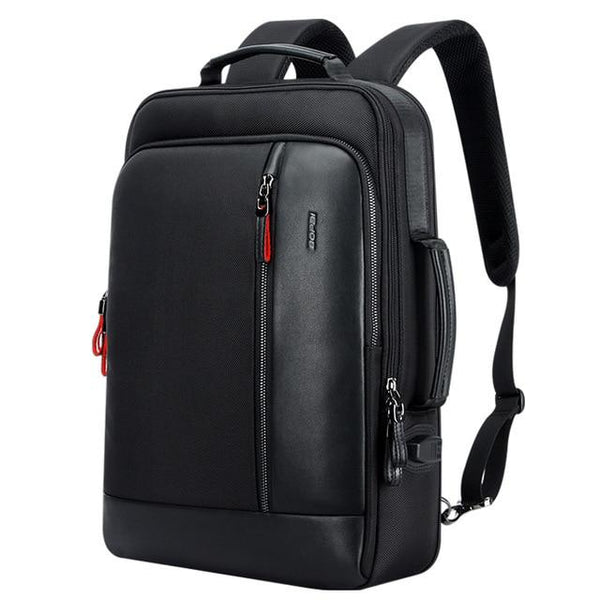 Backpack teenager men anti theft enlarge usb external charge 15.6 inch laptop waterproof school bags