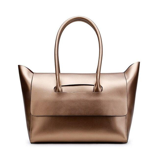 Bag women luxury brand designer genuine leather handbags simple fashion style shoulder hobos big volume totes