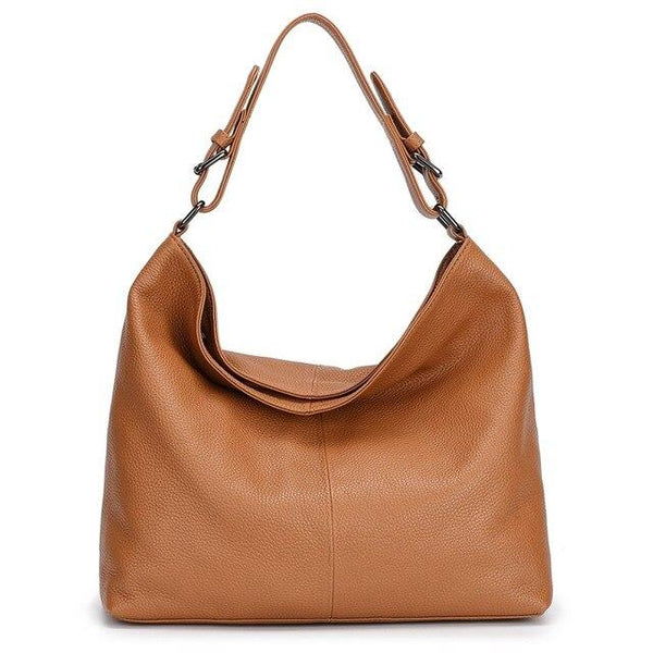 Bags women 100% luxury genuine leather full grain shoulder soft real original natural skin handbag