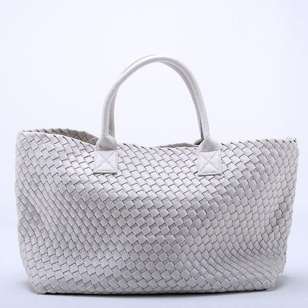 Bag ladies brand woven leather cross stitch hobo high-capacity handbag shoulder casual tote