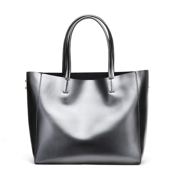 Handbags women fashion leisure shoulder sling genuine leather messenger elegant casual tote shopper bag