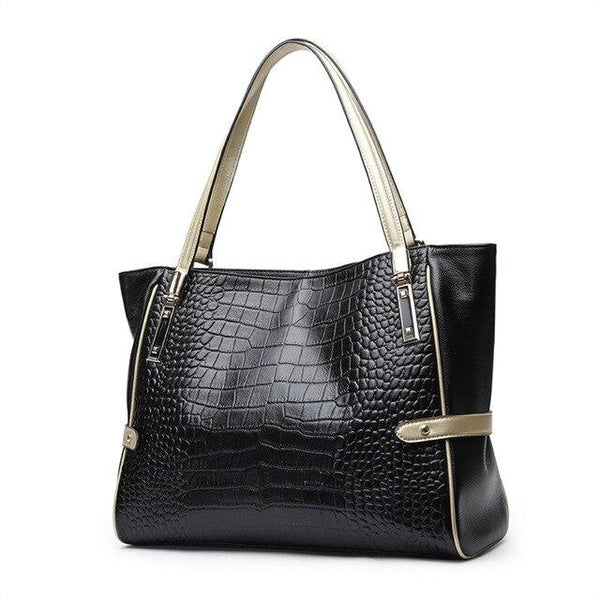 Handbags women genuine leather real skin bag office totes