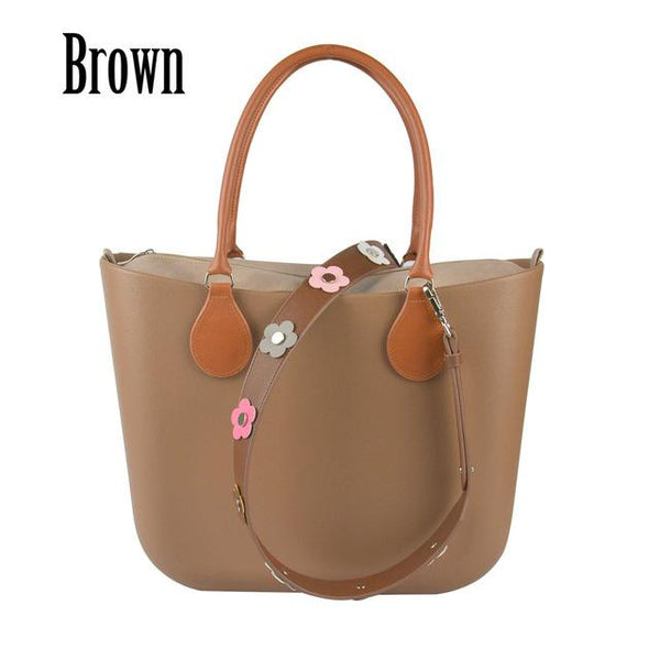 Bag women classic big bag insert inner pocket shoulder strap rivet flower handle style handbag