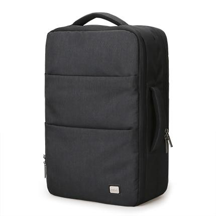 Backpack male large capacity waterproof usb design 17 inch laptop short trip travel bag