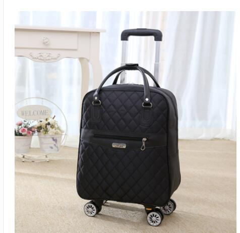 Backpack for women wheeled bag travel trolley bags oxford large capacity travel rolling luggage suitcase