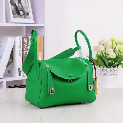 Bag women candy genuine leather handbags main modern brand design shoulder