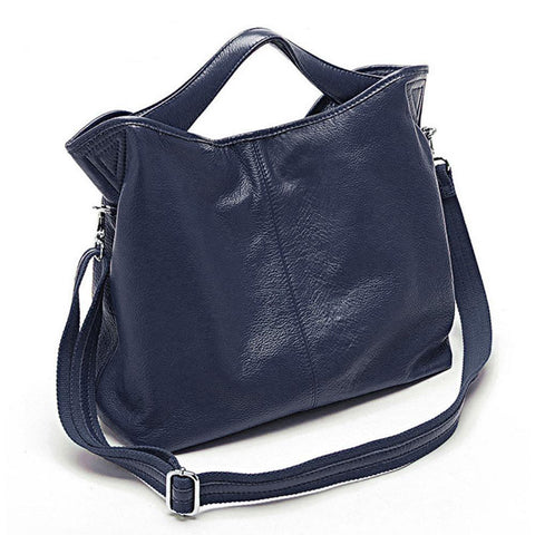 Handbag women fashion 100% genuine leather casual tote charm shoulder messenger classic satchel purse