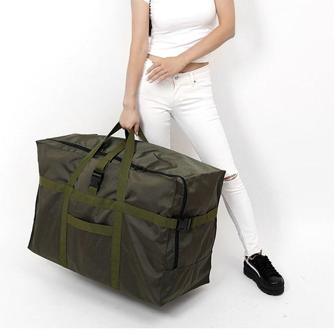 Luggage unisex fashion waterproof travel bag large capacity nylon foldable handbags