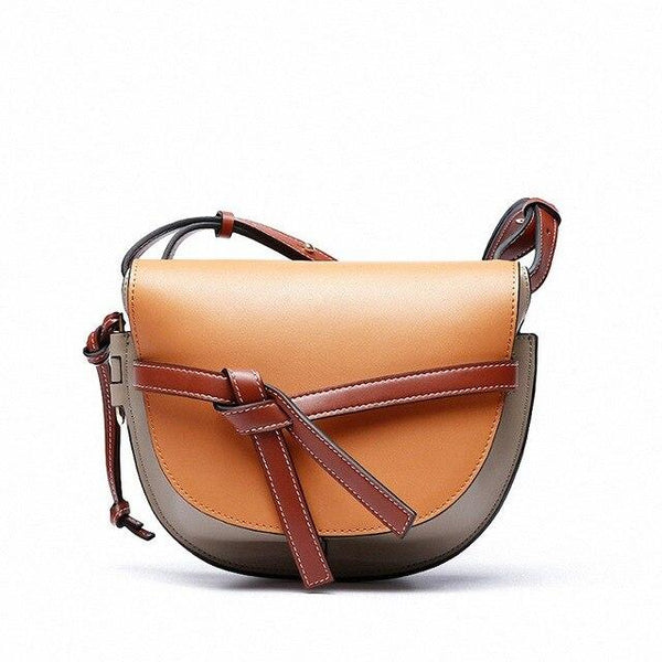 Bag women's genuine leather crossbodybags shoulder high quality casual female messenger