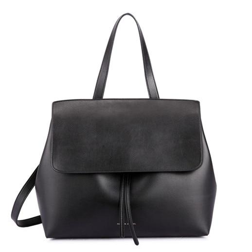 Bag women classics shouder leather lady real handbag