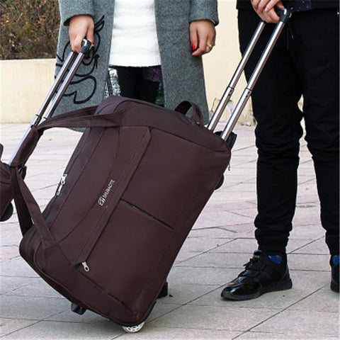Suitcase unisex large size wheel luggage trolley bag travel hand capacity with wheels