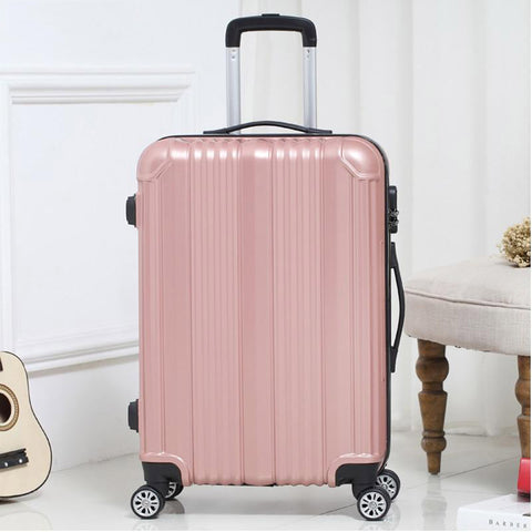 Suitcase unisex carry-ons travel spinner rolling luggage on wheels 20/22/24 inch cabin trolley box fashion