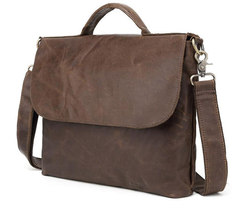 Bags men genuine leather shoulder casual tote messenger