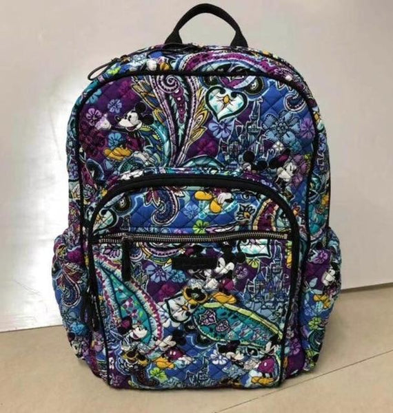 Backpack cotton fabric embossing