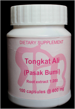 Tongkat Ali 200:1/600 mg's