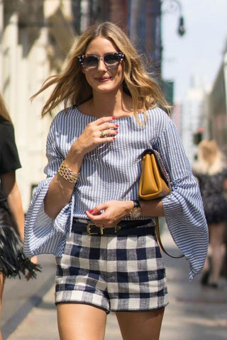 Olivia Palermo wearing The ever collection by K Michael sunglasses for women