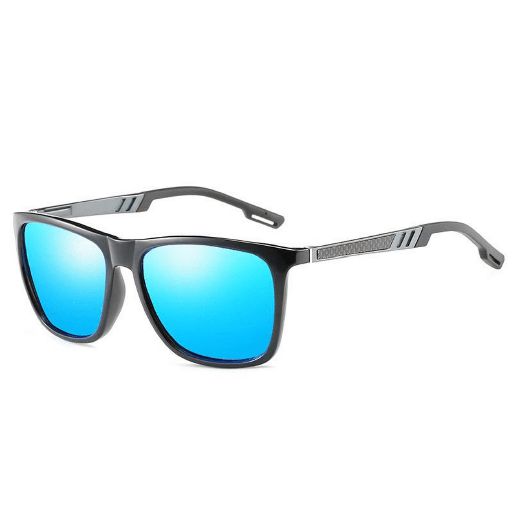 unisex polarized retro square metal sunglasses Frostbite