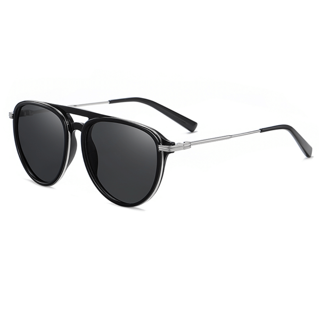 Unisex aviator acetate sunglasses Chronos
