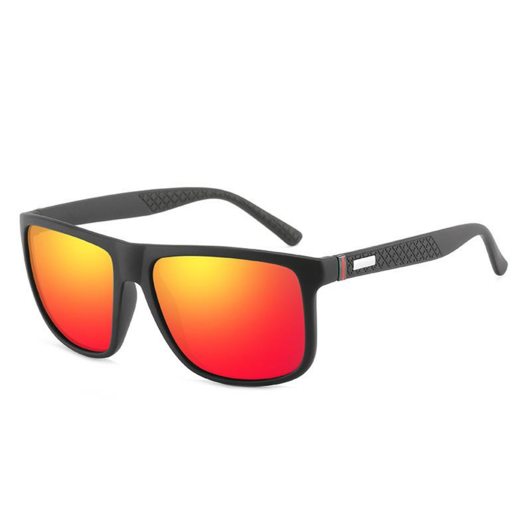 Unisex Polarized square sunglasses Raven