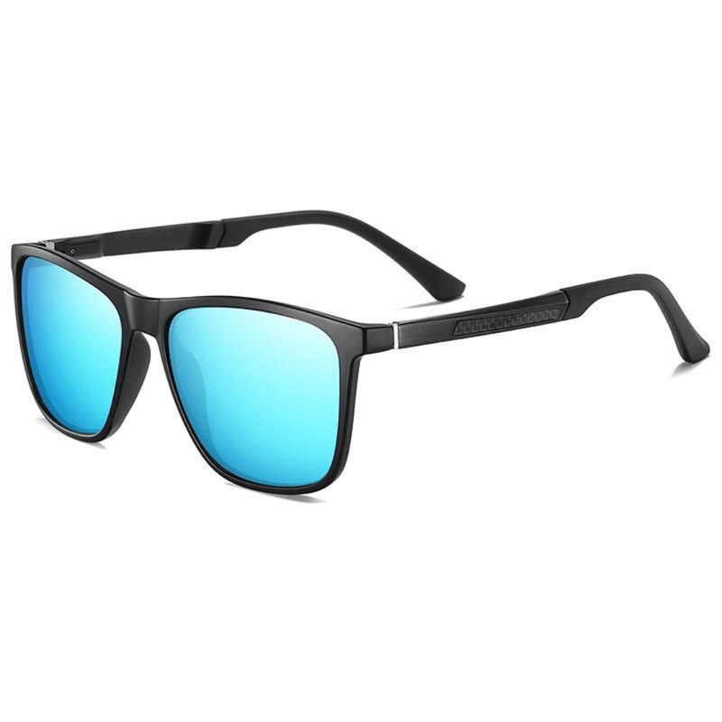 Unisex Polarized Retro Square Sunglasses Grim - The Ever Collection
