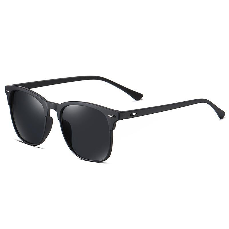 Unisex polarized browline sunglasses Zeta