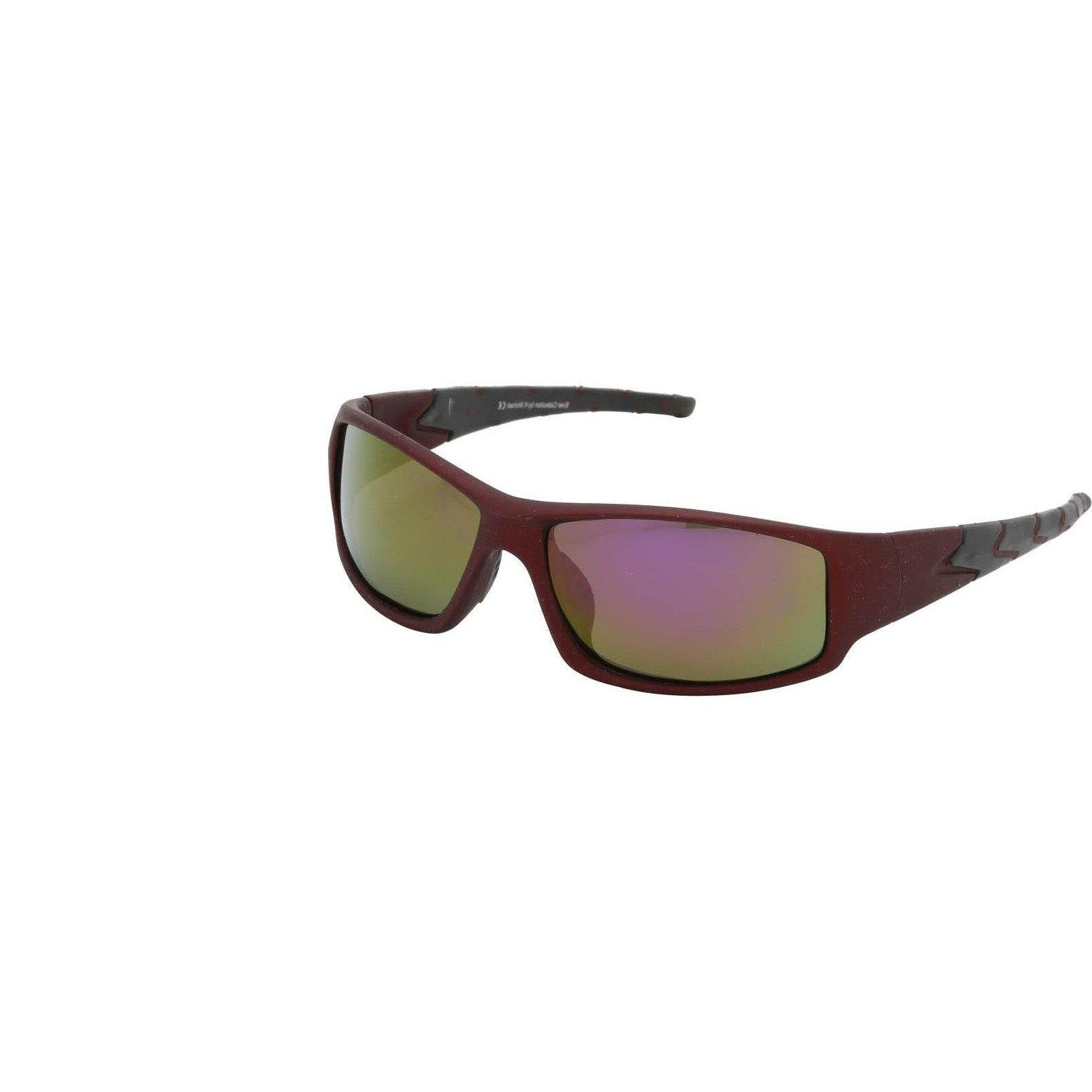 "Sports Sunglasses Designer Sunglasses Model ""Scorpion Tail"" Maroon By: The Ever Collection"