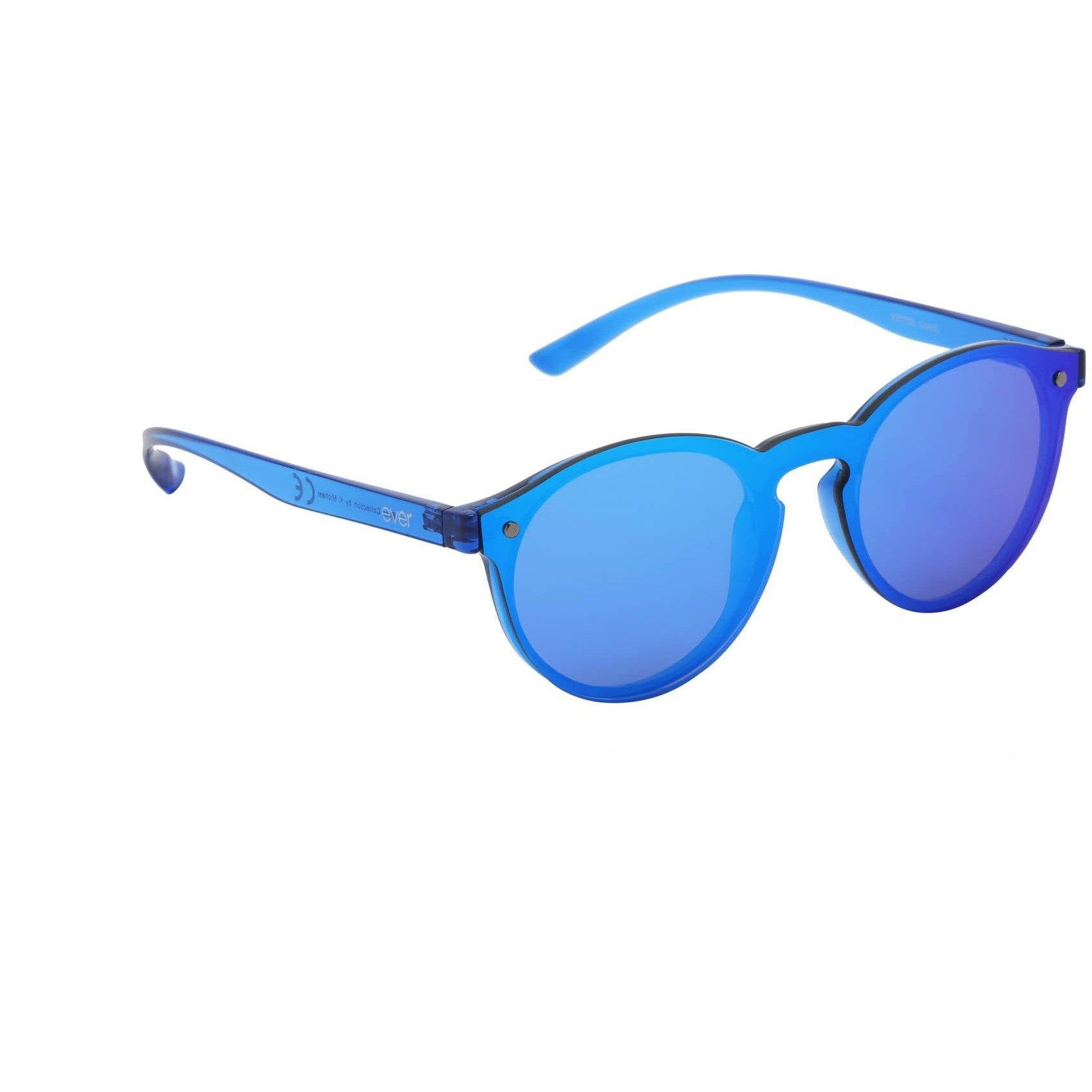 "Revo Coated Collection Designer Sunglasses Model ""Simba Tail"" Blue By: The Ever Collection"