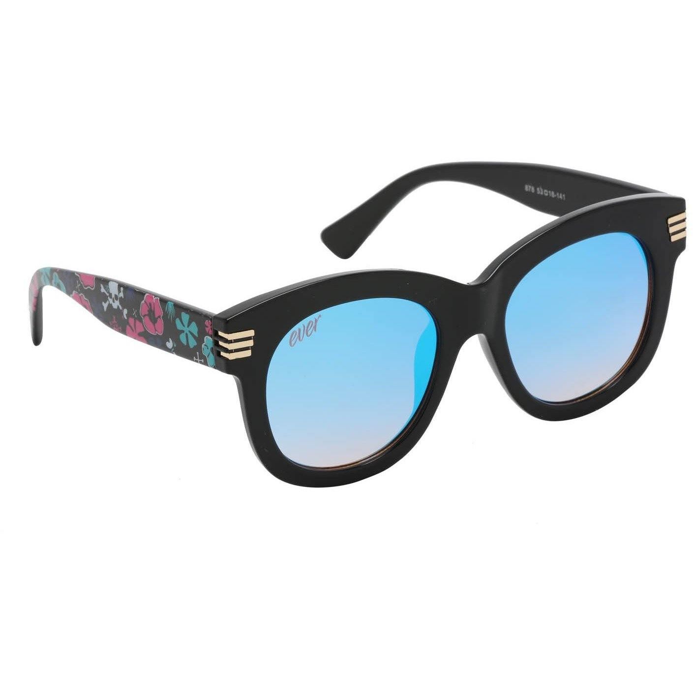 "Ever Fashion Designer Sunglasses Model ""Black Wildflower"" By: The Ever Collection"