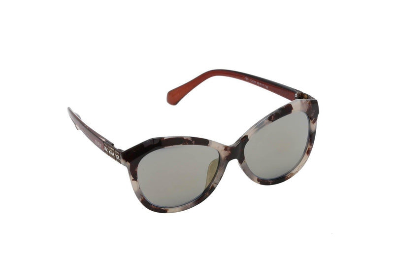 Women big frame cat eye acetate sunglasses